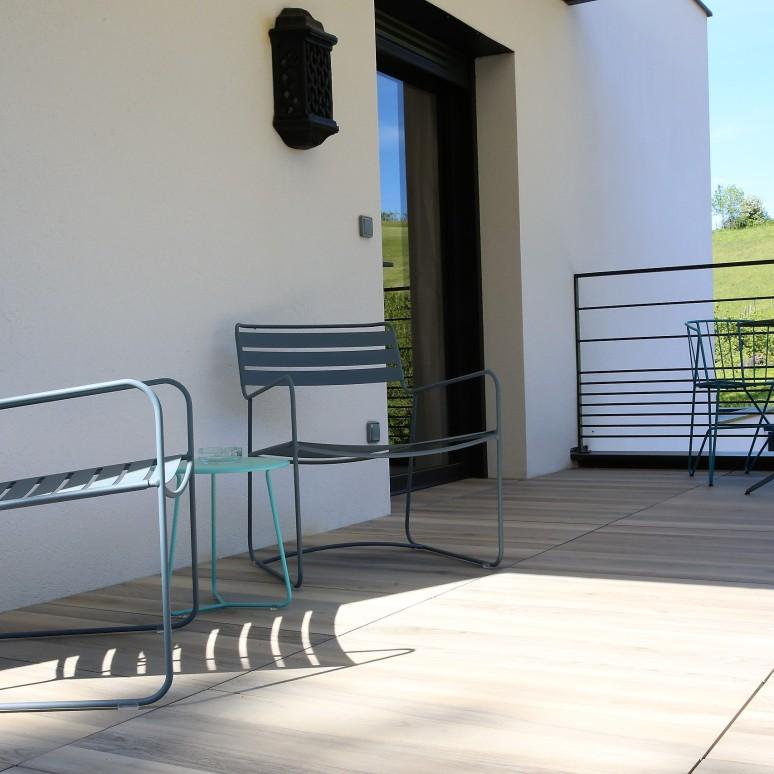 terrasse côté cour